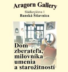 Predajná galéria umenia, designu a starožitností, Aragorn Gallery Banská Štiavnica